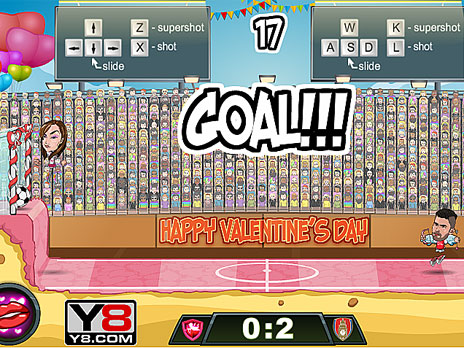 Football Legends Valentine Edition